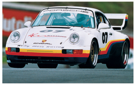 Alexander racing Porsche graphics.