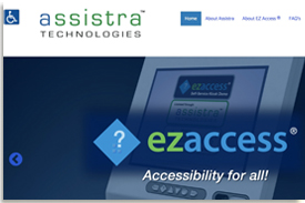 The Assistra Technologies website.