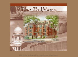 The original Belmora apartments website which is now inactive.