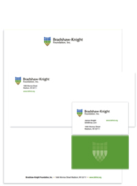 Bradshaw-Knight Foundation letterhead.