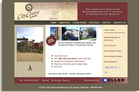 City Centre Verona condominums website.