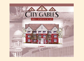 The original City Gables apartments website which is now inactive.