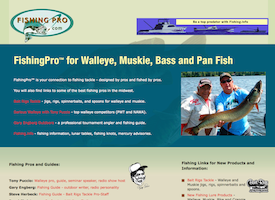 Fishing Pro website.