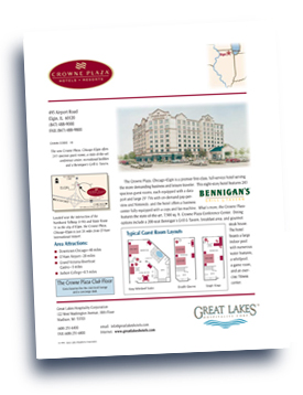 Great Lakes Companies, Inc. Crowne Plaza - Elgin flyer.