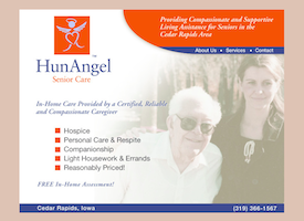 HunAngel Senior Care website.