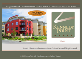Kennedy Point condominiums website.