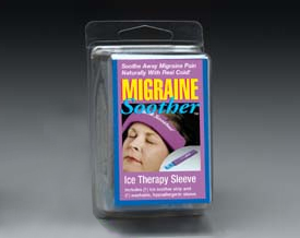 Migraine Soother Packaging.