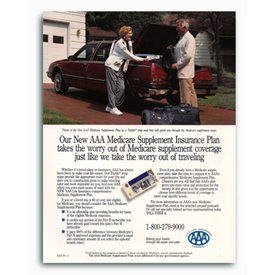 North American Insurance AAA Medigap insurance Ad.