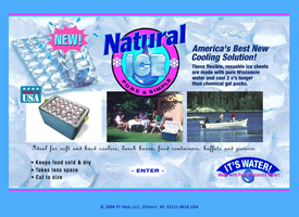 The Natural Ice website.