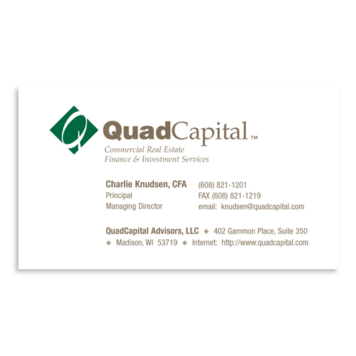Broadbent williams advertising business card quad capital quad capital business card colourmoves Choice Image
