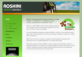 Roshini International website.