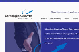 The Strattegic Growth Hospitality website.