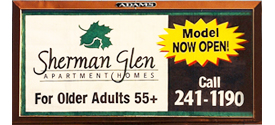 Sherman Glen Billboard.