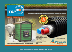 The Time Saver Pipe website.