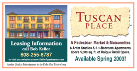 Tuscan Place Construction Sign.
