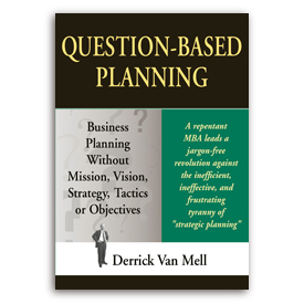 Question-Based Business Planning Book Cover.